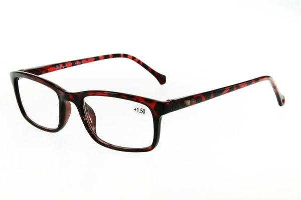 """очки готовые """"Airstyle"""" LR-P 3015 (пластик) черно/красный"""