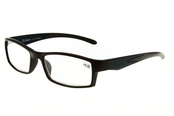 """очки готовые """"Airstyle"""" LR-P 3800 (пластик) коричневый"""