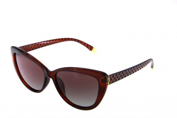 "PL336 очки с/з ""Polarized"" c02 коричневый"