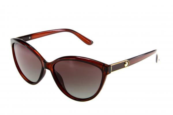 "PL338 очки с/з ""Polarized"" c02 коричневый"