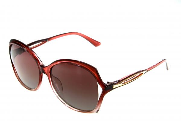 "PL406 очки с/з ""Polarized"" с04 коричневый"