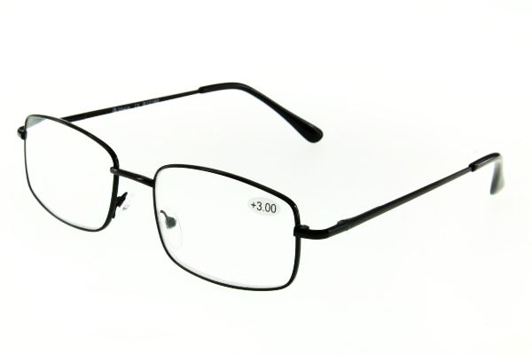 "очки готовые ""Airstyle"" R-12165 (металл) черный"