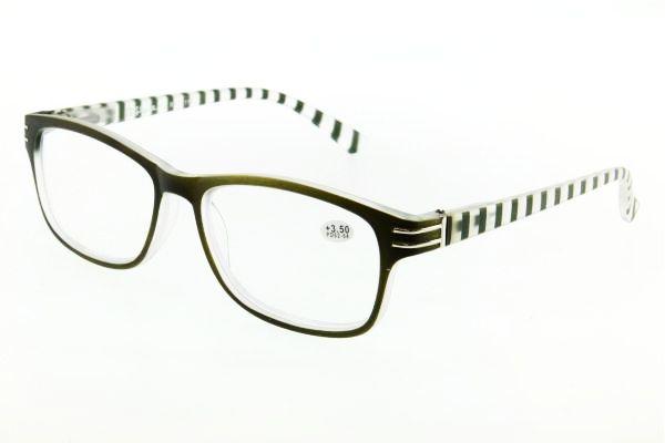 """очки готовые """"Airstyle"""" RFC 119 (пластик) зелёный"""