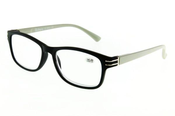 """очки готовые """"Airstyle"""" RFC 119 (пластик) черно-серый"""