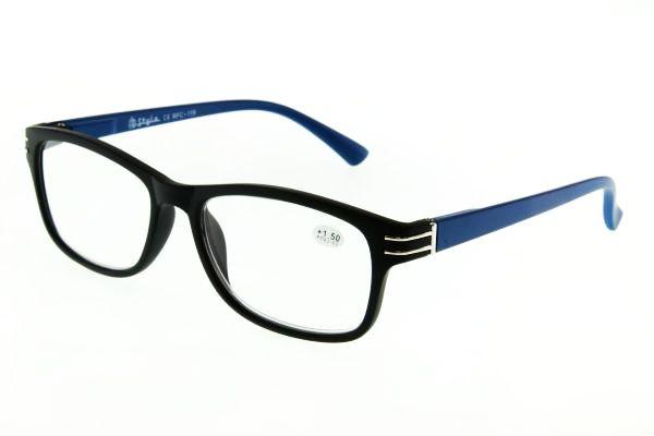 """очки готовые """"Airstyle"""" RFC 119 (пластик) черно-синий"""