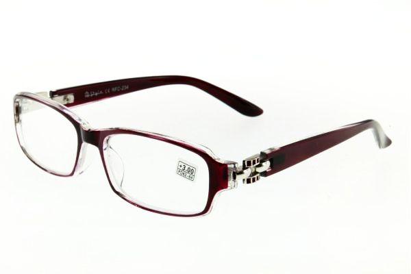 "очки готовые ""Airstyle"" RFC 234 (пластик) пурпурный"