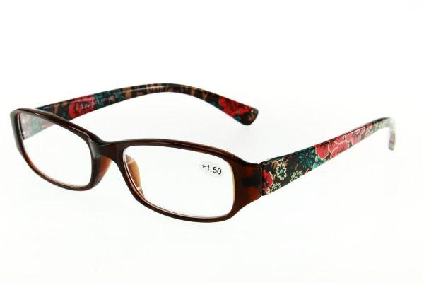 """очки готовые """"Airstyle"""" RP 1187-9 (пластик) коричневый"""