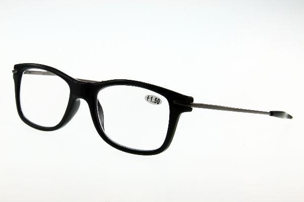 """очки готовые """"Airstyle"""" RP- 1265 (пл/ металл) чёрный"""