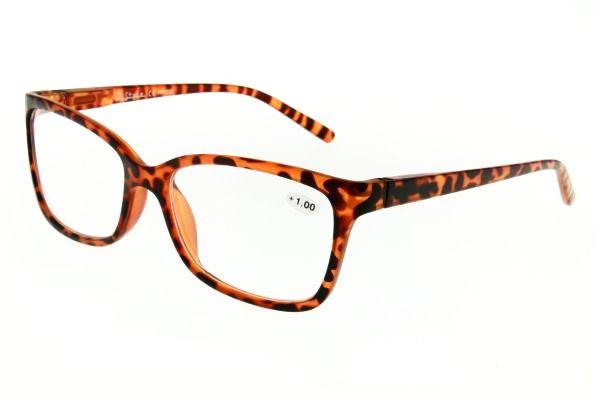 """очки готовые """"Airstyle"""" RP- 1733 (пластик) коричневый"""