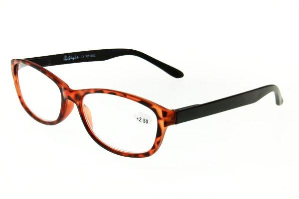 """очки готовые """"Airstyle"""" RP- 1892 (пластик) коричневый"""