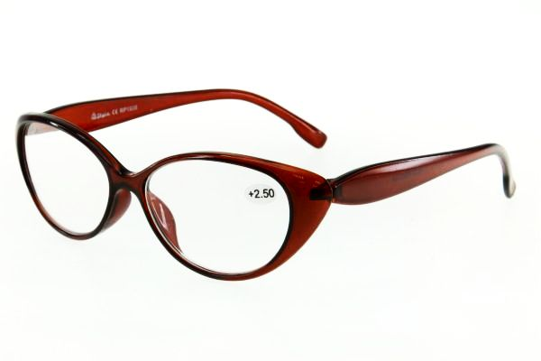 """очки готовые """"Airstyle"""" RP 1906 (пластик) коричневый"""