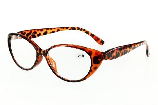 "очки готовые ""Airstyle"" RP 1906 (пластик) светло/коричневый"
