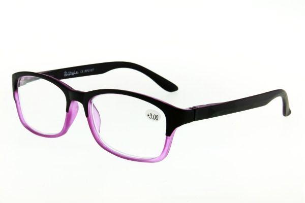 "очки готовые ""Airstyle"" RP 2107 (пластик) фиолетовый"