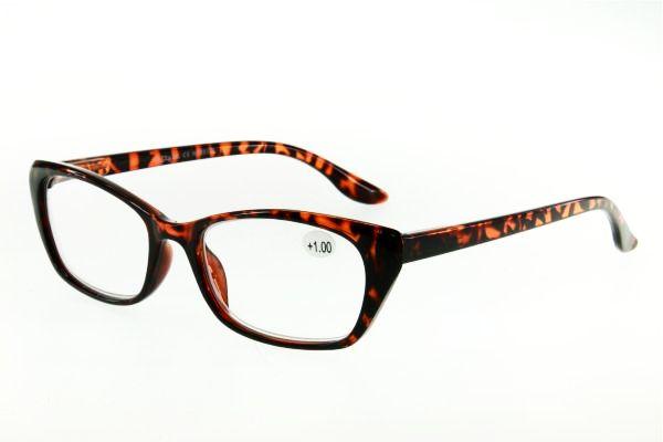 """очки готовые """"Airstyle"""" RP 25126 (пластик) коричневый"""