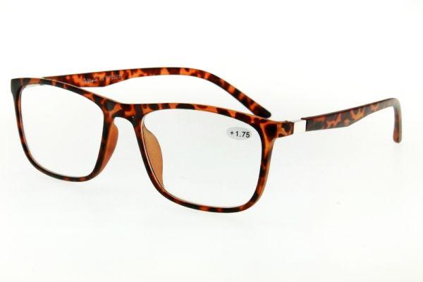 """очки готовые """"Airstyle"""" RP-25235 коричневый (пластик)"""
