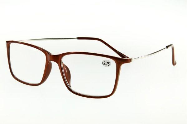 """очки готовые """"Airstyle"""" RP-25250 коричневый (пластик)"""